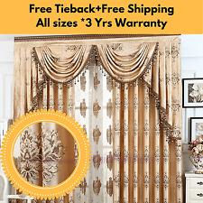 Custom Made Blackout Majesty Mocha Brown Drapes Curtains Eyelet Pleats Blockout