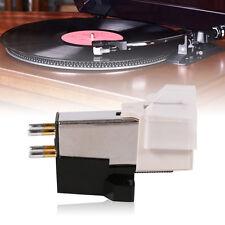 Phonograph Record Player Needle Pickup Stylus Moving Magnet Cartridge w/ Screw E