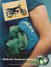 Puch Monza 6 SL - Reklame Werbeanzeige Original-Werbung 1977 (2)