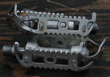 Vintage Atom 700 Quill Road Bike Pedals Racing Fixie Track Peugeot  Bicycle