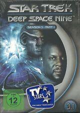 Star Trek Deep Space Nine Season 3.1 Neu OVP Sealed Deutsche Ausgabe 3 DVD`s