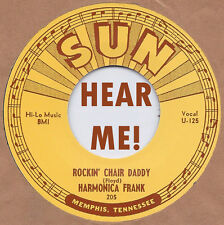 BLUES: HARMONICA FRANK Rockin' Chair Daddy/The Great Medical Menagerist SUN