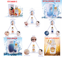 Pure Vitamin C Hyaluronic Acid Whithening Collagen 24k Anti-Wrinkle Serum Face