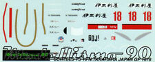 Modellismo 90 1/43 Decal sheet Surtees TS19 F.1 Japan GP 1976 Takahara NEW