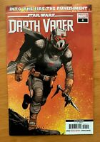 STAR WARS DARTH VADER 6 2020 2ND Print Variant Marvel NM