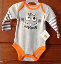 LOT#X NEW INFANT UNISEX BABY CLOTHES 1PC OUTFIT kids baby creeper 0/3 mo size ~