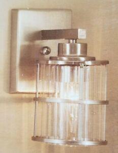 Allen + roth vanity light Satin nickel finish NIB 18651-000 0030497 Lowes