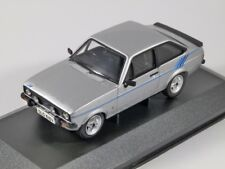 FORD ESCORT Mk2 1.6 HARRIER in Silver 1/43 scale model CORGI Vanguards