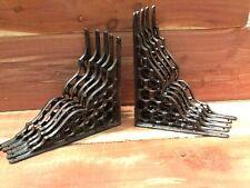10Webb Cast Iron Wall Shelf Brackets  Antique Style Corbell Rustic FREE SHIPPING