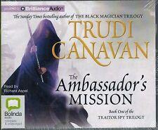The Ambassadors Mission Audiobook CD Trudi Canavan 2010 Book One