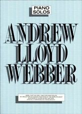 Andrew Lloyd Webber Piano Solos Psg by Webber, Andrew Book The Cheap Fast Free