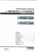 Yamaha Service Manual  für A 4000 A 5000  Copy