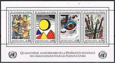 VN UNO Geneve 1986 blok 4 Postfris MNH cat waarde € 8