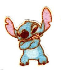 "1.5"" Disney lilo & stitch mini fabric applique iron on character"