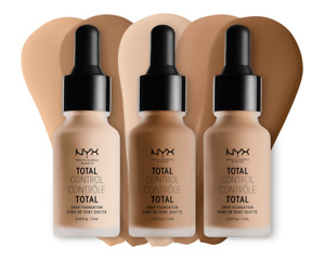 (1) Nyx Total Control Drop Foundation, You Choose