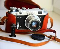 FED-2 35mm Soviet Rangefinder Film Camera (copy Leica) w/s lens industar-26M EXC