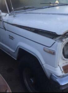 1978 AMC Jeep Cherokee Passenger Side Rustfree Arizona Fender