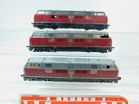 AV249-3# 3x Fleischmann H0/DC Bastler-Diesellok/Diesellokomotive 221 131-6 DB