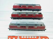 Av249-3# 3x Fleischmann h0/dc hobbisti-treno/LOCOMOTIVA DIESEL 221 131-6 DB