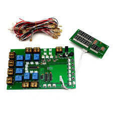 8 Channel Count from 0 Time Control Timer Board Power Supply for 1-8 Devices