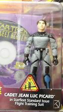 TNG Cadet Jean-Luc Picard Starfleet Academy Figure Playmates Star Trek Unopened