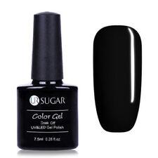 7.5ml Nail Art Soak Off UV Gel Polish Shiny Black Manicure Nail LED Gel Varnish