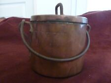 pot epousaille patronymique 1823 cuivre art populaire,H12cm