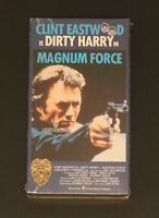 NEW! Magnum Force (VHS, 1998) Clint Eastwood as Dirty Harry