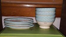 """NWT RAE DUNN """"Taste"""" plate amd bowl set"""