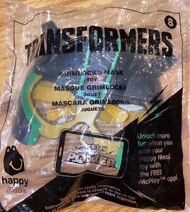 Transformers #8 Grimlock 2016 McDonalds Happy Meal Toy