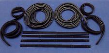 1972-1977 DODGE D100 PICKUP TRUCK RUBBER DOOR SEALS RUN CHANNELS WINDOWFELTS KIT