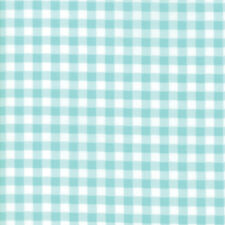 Vintage Holiday Cotton Aqua Plaid Bonnie and Camille Moda Quilting Fabric