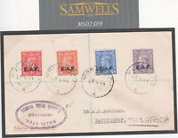 MS2389 1944 WW2 BOIC SOMALIA Mogadishu *EAF* GB Overprints 'Head Office' Cover