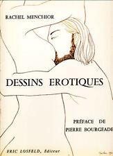 RACHEL MENCHIOR, DESSINS ÉROTIQUES - LOSFELD 1971