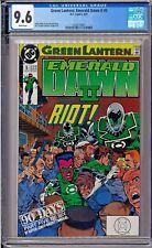 Green Lantern: Emerald Dawn II #5 CGC 9.6 White Sinestro