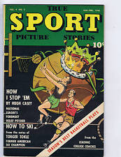True Sport Picture Stories V4 #5 Street and Smith 1948
