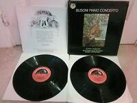 ASD 2336-7 Busoni Piano Concerto John Ogden Royal Phil Revenaugh Box Set 2 X LP