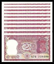 INDIA 2 RUPEES 1978 P 53Ae UNC W/H Venkitaramanan TIGER (10 PCS)