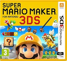 Super Mario Maker 3DS (Nintendo 3DS) NEW SEALED PAL