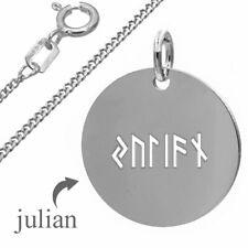 Runengravur, Namensgravur in Runenschrift-Silber925- Inkl.Kette+pers. Gravur- 1