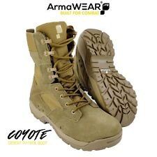 ArmaWEAR COYOTE Military Tactical Army Desert Combat Patrol Boots |UK 5-13|