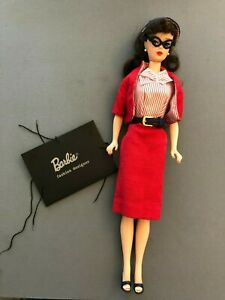 Reproduction Busy Gal outfit on Reproduction of Ponytail Barbie doll