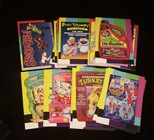 WACKY PACKAGES - SMALL SCREEN Chase Set - All 20 Stickers - Wacky Packs - Topps