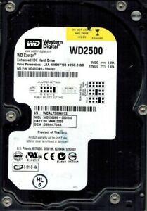 WESTERN DIGITAL 250GB WD2500BB-55GUA0 IDE DCM: DSBACTJAA