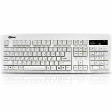 QSENN SEM-DT35 Gaming Keyboard in EN/KR version PS/2 (White)