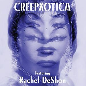 "10"" Creepxotica featuring Rachel DeShon purple w/ digital Yma Sumac Exotica Surf"