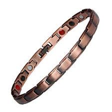 Pure Copper Thin Magnetic Bracelet Anklet women Arthritis Pain Relief Energy