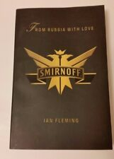 JAMES BOND FROM RUSSIA WITH LOVE SMIRNOFF PROMO IAN FLEMING PENGUIN BOOKS 2007