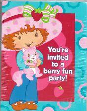Strawberry Shortcake Invitations & 8 Thank You Postcards American Greetings