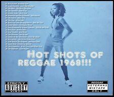 HOT SHOTS OF REGGAE 1968 REVIVAL MIX CD